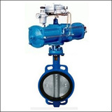 BAWWA Modulating Wafer Center Line Pneumatic Butterfly Valve