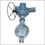 Ordinary Type BQWSYD Wafer Three Eccentric Electric Butterfly Valve