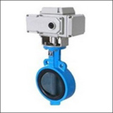 Small Size BLWA Wafer Center Line Electric Butterfly Valve