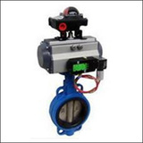 BGTWA On-off Type Wafer Centre Line Pneumatic Butterfly Valve
