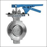BSWSYD Hand Lever Wafer Triple Eccentric Butterfly Valve