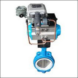 BGTWA Modulating Wafer Center Line Pneumatic Butterfly Valve