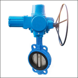 Ordinary Type BQWA Wafer Center Line Electric Butterfly Valve