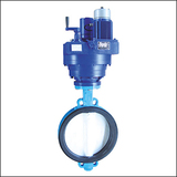 Economical ZAJWA Wafer Center Line Electric Butterfly Valve