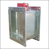 BLZF-F Type Ventilating                 Square Damper