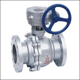 BWAQ Worm Gear V Port    Ball Valve