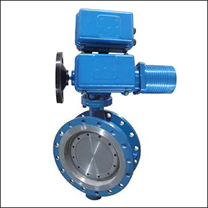 Introduced Series BELLWSY Flange Three Eccentric Modulating Electric Butterfly Valve