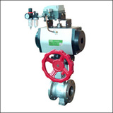 BGTQ Pneumatic V Port Ball Valve