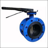 BSWF Hand Lever Flange Centre Line Butterfly Valve