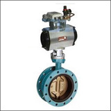 BGTWF Modulating Flange Center Line Pneumatic Butterfly Valve