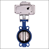 Small Size BLWA Wafer Center Line Modulating Electric Butterfly Valve