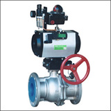 BAWQ Pneumatic O Port     Ball Valve
