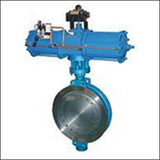BAWWSYD On-off Type Wafer Triple Eccentric Pneumatic Butterfly Valve