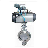 BGTWSYD Modulating Wafer Three Eccentric Pneumatic Butterfly Valve