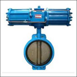 BAWWA On-off Type Wafer Centre Line Pneumatic Butterfly Valve