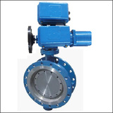 Introduced Series BELLWSY Flange Three Eccentric Electric Butterfly Valve