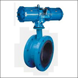BAWWF On-off Type Flange Centre Line Pneumatic Butterfly Valve